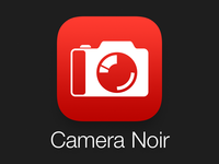 Camera Noir App Icon for iOS 7