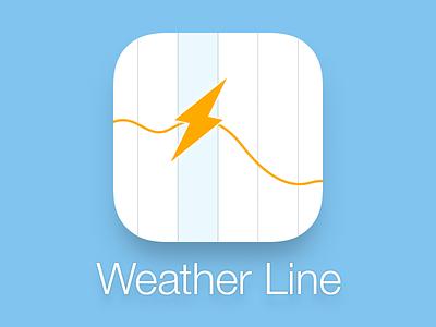 Weather Line App Icon weather line app icon ios ios7