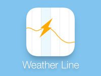 Weather Line App Icon