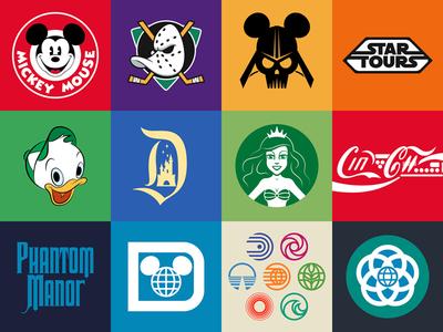My Disney Obsession disney disneyland mickey ducks vader star wars ariel starbucks coca-cola epcot