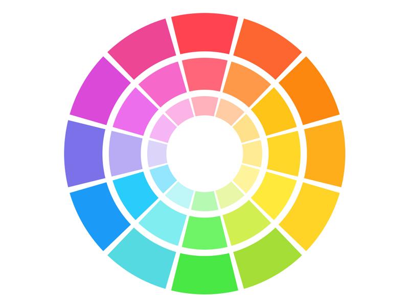 iOS 7 Color Wheel ios ios7 color wheel