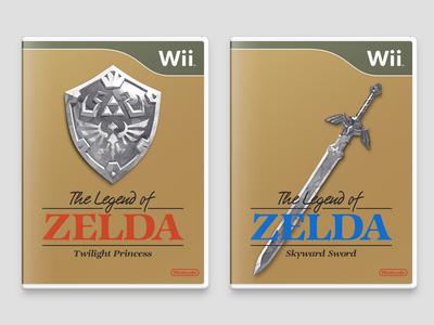 Retro Zelda Covers