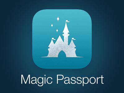 Magic Passport App Icon (DLR)