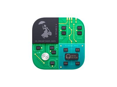 MAPO App Icon magic passport ios app disney icons icon disneyland