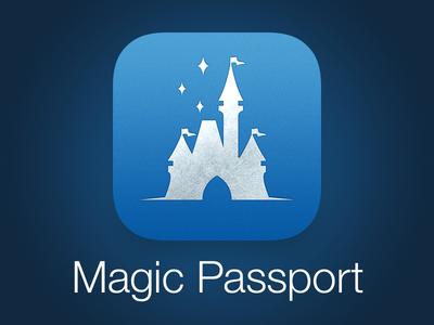 Magic Passport App Icon (WDW)