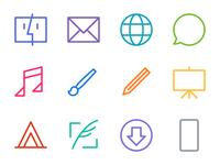 OS X App Icons