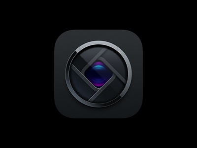 Halide App Icon: Apperture aperture camera ios iphone icons app icon app halide