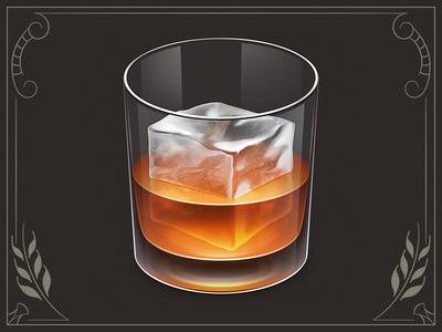 Whiskey App Icon