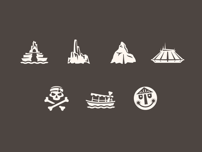 Magic Passport In-App Icons (Rebound) disneyland magic passport icon ios ios7 app
