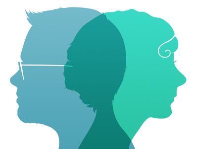 Louie Mantia & Alexa Grafera pacific helm jelly portrait silhouette cameo venn