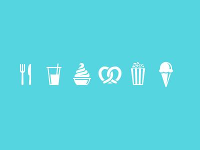 Magic Passport: Snacks food drink snack popcorn ice cream pretzel magic passport disneyland icons app dole whip