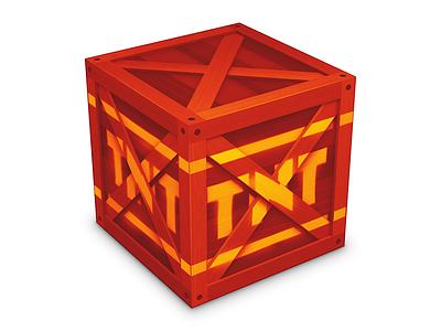 TNT Crate icon crash bandicoot crate tnt