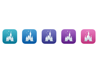 Magic Passport App Icons