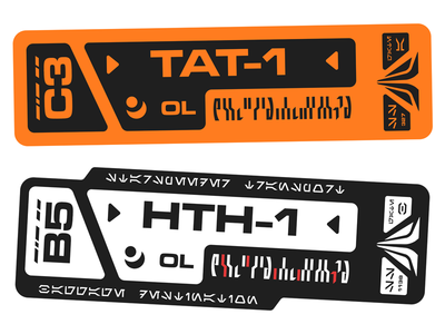 Star Tours Bag Tags