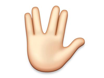Spock spock vulcan emoji star trek
