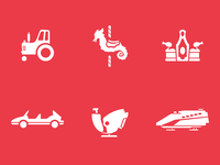 More New Attraction Icons