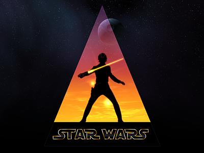 Binary Sunset skywalker luke skywalker star wars