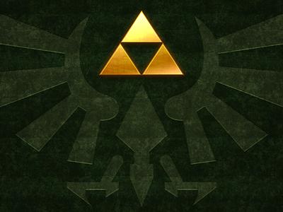 Triforce triforce zelda link legend of zelda hyrule