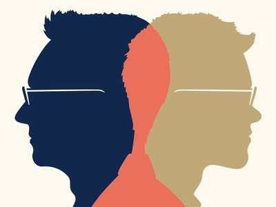 Nick Paulson ❤️ Taylor Carrigan love wedding marriage venn cameo silhouette portrait
