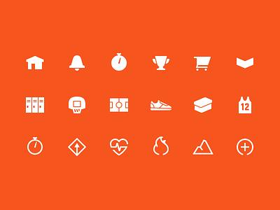 Nike+ Icons shoe sport shopping metric icon ios nike