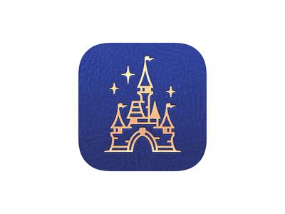 Magic Passport App Icon castle icon app passport magic