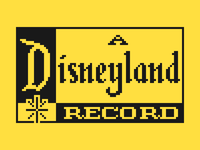 Pixel Disneyland Records Logo