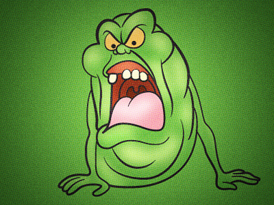 Slimer By Louie Mantia Dribbble Dribbble