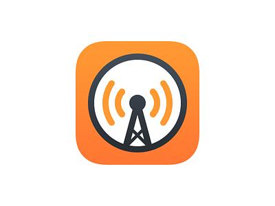 Overcast 3 App Icon app icon ios podcasts app arment marco overcast icon
