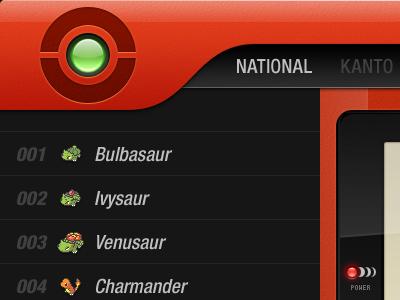 Pokédex for iPad pokedex ipad red pokemon gameboy