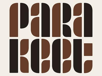 Parakeet in the 60's 60s logo parakeet
