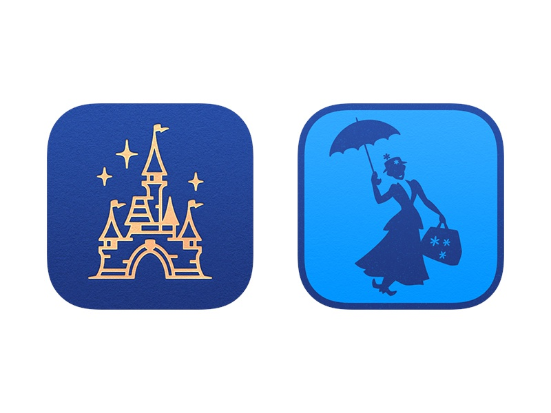 Magic Passport & MAPO disney disneyland castle icon mapo app icon magic passport