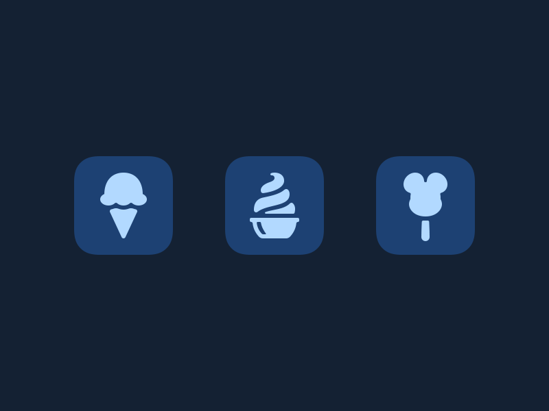 Treats ice cream bar dole whip soft serve ice cream disneyland icons magic passport