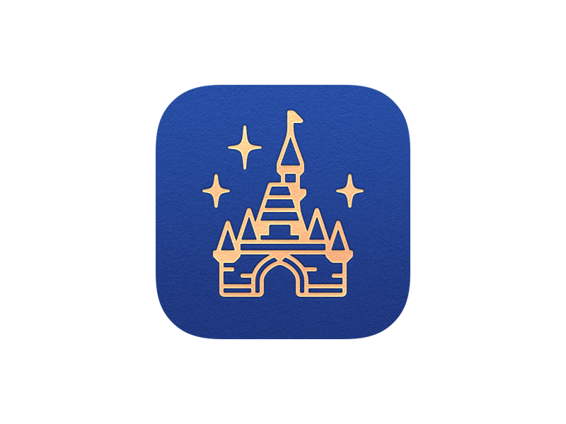 Magic Passport App Icon app icon disneyland icons magic passport