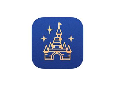 Magic Passport App Icon app icon disneyland icons magic passport