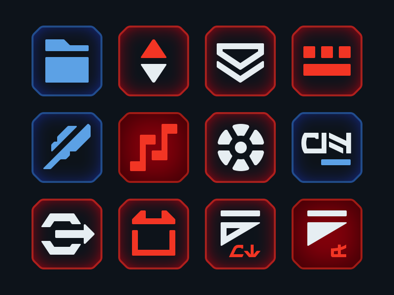 Star Wars macOS Icons icons macos star wars