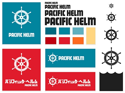 Branding Sheet branding logo type pacific helm pacific helm guide sheet