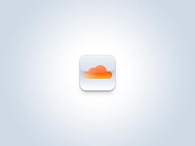 SoundCloud Icon soundcloud orange cloud audio music