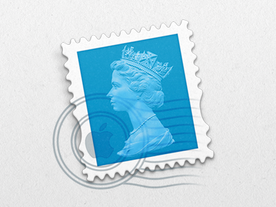 2nd Class mail app queen britain uk united kingdom