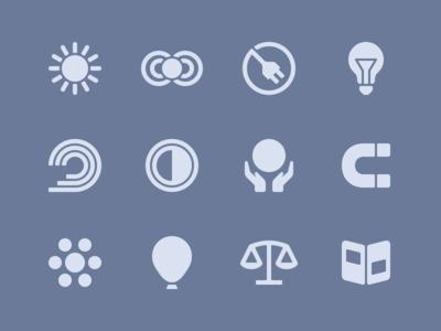 MOVA Icons