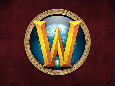 World of Warcraft: Mists of Pandaria App Icon world warcraft mists pandaria panda pandaren azeroth kalimdor eastern kingdoms outland northrend water globe planet runes circle w
