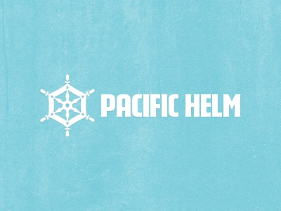 Happy Holidays from Pacific Helm holidays december new year january teal blue christmas snowflake helm pacific