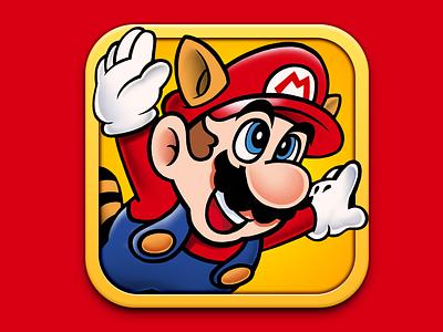 Super Mario Bros 3 App Icon mario luigi peach 3 super mario bros smb