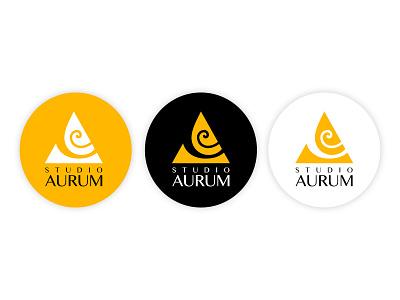 Studio Aurum Logo logo design branding affinity designer
