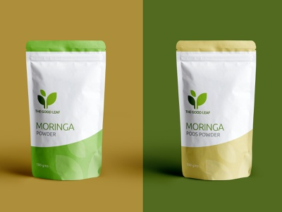 Packaging design for The Good Leaf organic food packaging design branding design