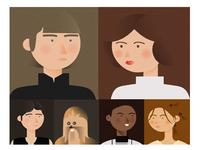 Star Wars Minimal Portraits