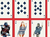 Spades, from Game of Thrones Playing Cards