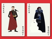 "Jokers ""Little Finger"" & ""Jon Snow"""
