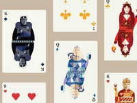 Thrones Playing Cards