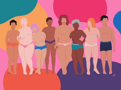 Breast Cancer Awareness editorial illustrator illustration