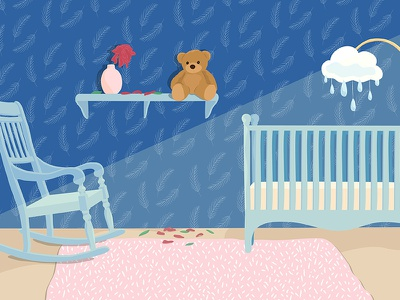 World Health Organization: Miscarriage Story editorial illustration illustration